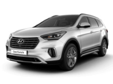 Hyundai Grand Santa Fe DM Facelift SUV