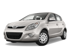 Hyundai i20 wheels and tires specs icon