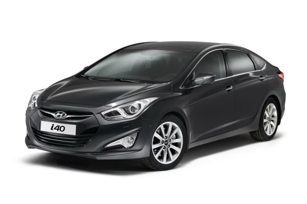 Hyundai i40 wheels and tires specs icon