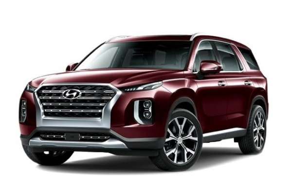 Hyundai Palisade wheels and tires specs icon