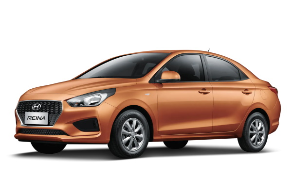 Hyundai Reina wheels and tires specs icon