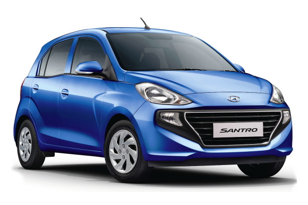 Hyundai Santro wheels and tires specs icon