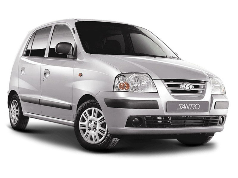 Hyundai Santro Xing wheels and tires specs icon