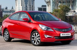 Hyundai Solaris I Restyling Berline