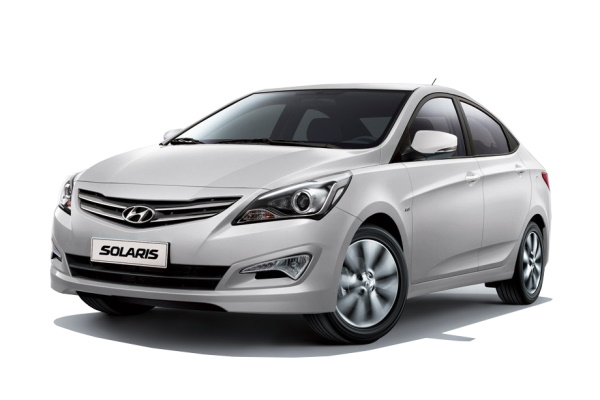 Hyundai Solaris RBr Facelift Berline
