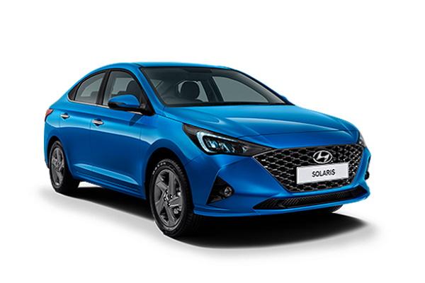 Hyundai Solaris HCr Facelift Saloon