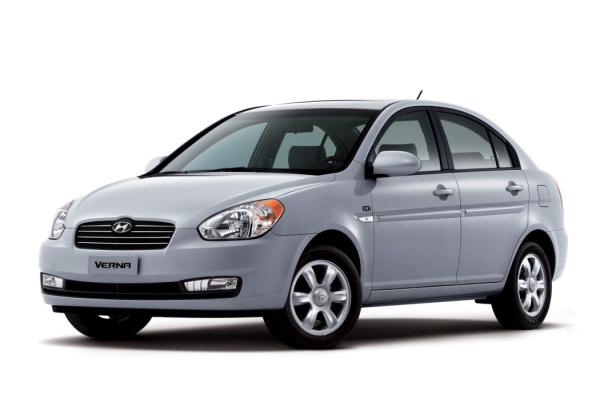 Hyundai Verna wheels and tires specs icon