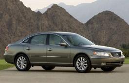 Hyundai Azera 2007  Wheel  Tire Sizes PCD Offset and Rims
