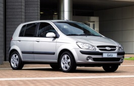 Hyundai Getz wheels and tires specs icon
