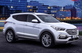 Hyundai Santa Fe DM Closed Off-Road Vehicle