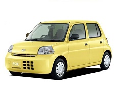 Daihatsu Esse wheels and tires specs icon