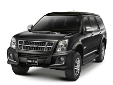 Isuzu MU-7 wheels and tires specs icon