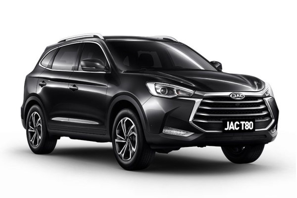 JAC T80 wheels and tires specs icon