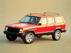 Jeep Cherokee XJ Closed Off-Road Vehicle