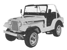 Jeep CJ CJ4-6 Open Off-Road Vehicle