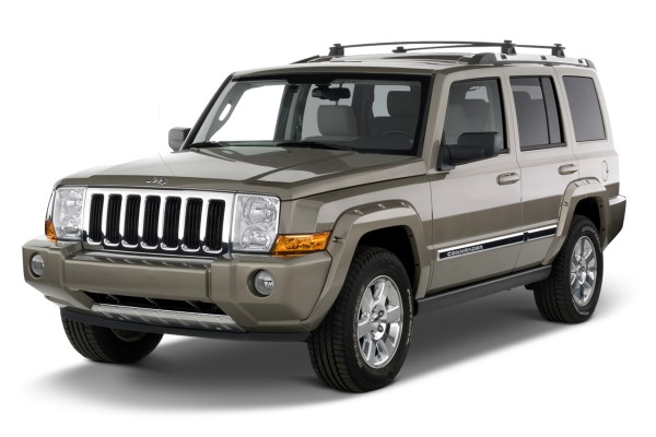 Jeep Commander wheels and tires specs icon