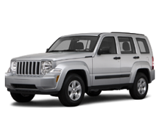 Jeep Liberty KK Closed Off-Road Vehicle