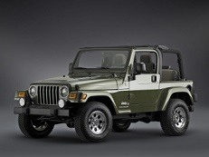 Jeep Wrangler TJ Open Off-Road Vehicle