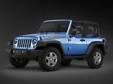 Jeep Wrangler JK Closed Off-Road Vehicle