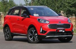 Kia KX3 Facelift SUV