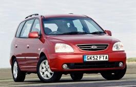 Kia Carens wheels and tires specs icon