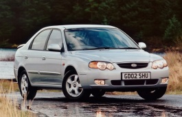 Kia Shuma FB Restyling Liftback