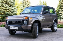 LADA 4x4 Urban Closed Off-Road Vehicle