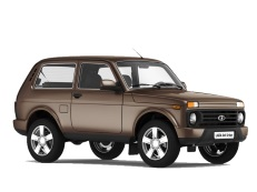LADA 4x4 Urban 2121x Closed Off-Road Vehicle