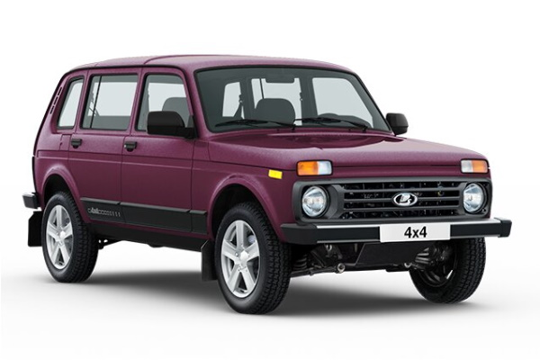 LADA 4X4 2121x/2131x Facelift (2131) Closed Off-Road Vehicle