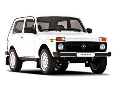 LADA 4X4 2121x Closed Off-Road Vehicle