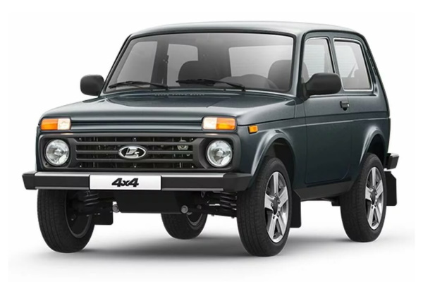 LADA 4X4 2121x/2131x Facelift (2121) Closed Off-Road Vehicle