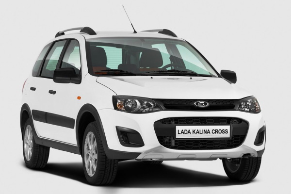LADA Kalina Cross wheels and tires specs icon