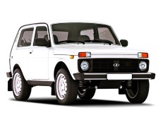 LADA Niva 2121x Closed Off-Road Vehicle