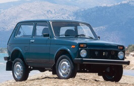 LADA Niva Closed Off-Road Vehicle