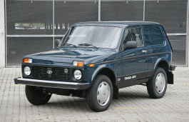 LADA Taiga Closed Off-Road Vehicle
