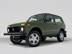 LADA Taiga 2121x Closed Off-Road Vehicle
