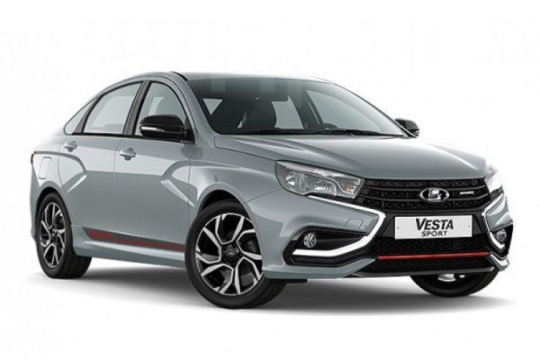 LADA Vesta Sport wheels and tires specs icon