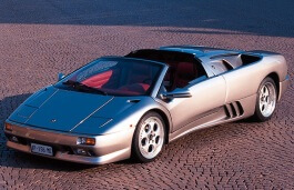 Lamborghini Diablo Roadster wheels and tires specs icon