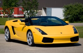 Lamborghini Gallardo Spyder wheels and tires specs icon