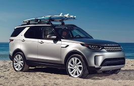 Land Rover Discovery 5 V Closed Off-Road Vehicle