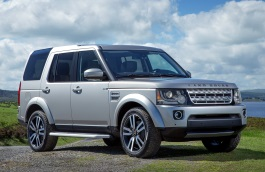 Land Rover LR4 I Facelift Closed Off-Road Vehicle