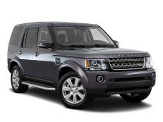 Land Rover LR4 L319 Facelift Closed Off-Road Vehicle