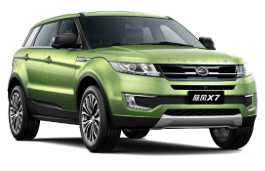 Landwind X7 wheels and tires specs icon
