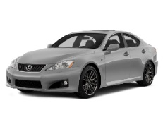 Lexus IS F wheels and tires specs icon
