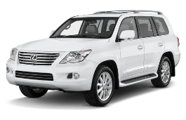 Lexus LX wheels and tires specs icon