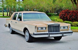 opony do Lincoln Continental VI [1980 .. 1981] Saloon