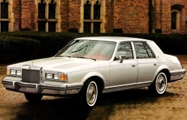opony do Lincoln Continental VII [1982 .. 1987] Saloon