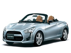 Daihatsu Copen wheels and tires specs icon