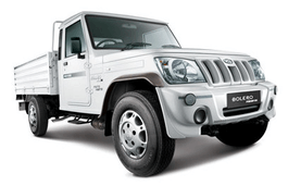 Mahindra Bolero Maxi Truck wheels and tires specs icon