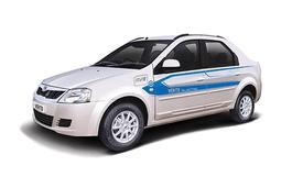 Mahindra e-Veritoのホイールとタイヤスペックアイコン